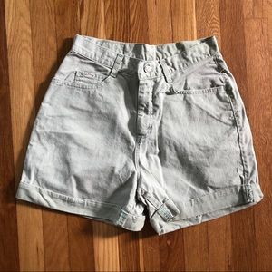 Vintage Lee Rider High Waisted Shorts